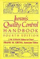 Juran s Quality Control Handbook Book