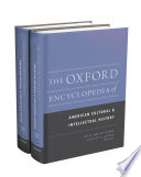 The Oxford Encyclopedia Of American Cultural And Intellectual History