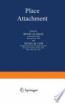 """Place Attachment"" by Irwin Altman, Setha M. Low"