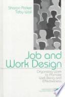 Job and Work Design Book