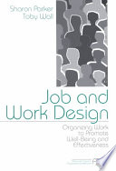 Job and Work Design