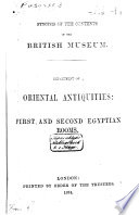 Synopsis of the Contents of the British Museum Book PDF