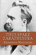 Thus Spake Zarathustra  English Edition
