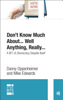 Don t Know Much About    Well Anything  Really     digital original edition
