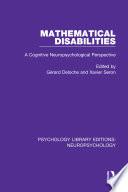 Mathematical Disabilities Book