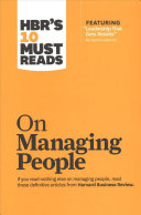 HBR s 10 Must Reads on Managing People 2 Volume Collection Book
