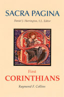 Sacra Pagina  First Corinthians