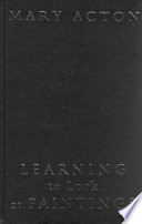 Learning to Look at Paintings by Mary Acton,Pam Meecham PDF