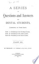 A Series of Questions and Answers for Dental Students