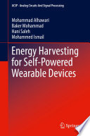 Energy Harvesting for Self-Powered Wearable Devices