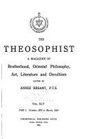The Theosophist