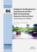 Strategies for the Management of Conjunctive Use of Surface Water and Groundwater Resources in Semi arid Areas