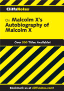 Pdf CliffsNotes on Malcolm X's The Autobiography of Malcolm X