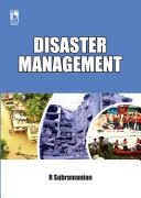 Disaster Management Pdf/ePub eBook