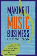 Making it in the Music Business Book