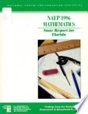 NAEP 1996 Mathematics State Report for Florida
