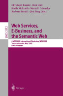 Web Services  E Business  and the Semantic Web