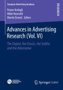 Pdf Advances in Advertising Research (Vol. VI) Telecharger