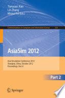 AsiaSim 2012   Part II Book