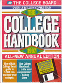 The College Handbook  1997