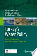 Turkey S Water Policy Book PDF
