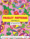 Paisley Patterns Coloring Book
