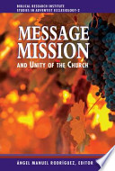 Message, Mission and Unity of the Church