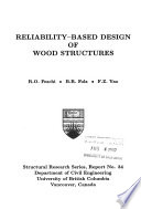 Reliability-based design of wood structures