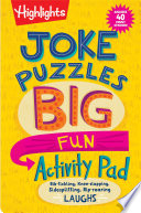 Joke Puzzles Big Fun Activity Pad