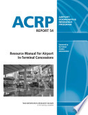 Resource Manual for Airport In terminal Concessions