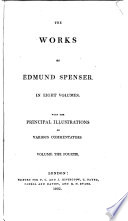 The Works Of Edmund Spenser With Notes By H J Todd