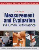 Measurement and Evaluation in Human Performance 5th Edition
