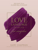 Pdf Love Language Minute for Couples Telecharger