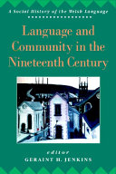 Language and Community in the Nineteenth Century