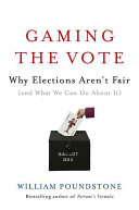 Pdf Gaming the Vote Telecharger