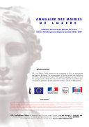 Pdf Annuaire des Mairies de Lozère (48)