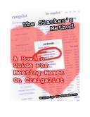 The Slacker s Method  A How to Guide for Men Seeking Women on Craigslist