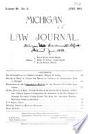 Proceedings Of The Annual Meeting Of The Michigan State Bar Association With Reports Of Committees Lists Of Officers Members