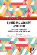Emoticons  Kaomoji  and Emoji
