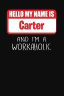 Hello My Name Is Carter
