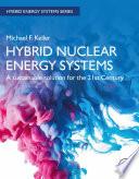 Hybrid Nuclear Energy Systems Book