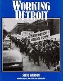 Pdf Working Detroit