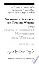 Strategies and Resources for Teaching Writing