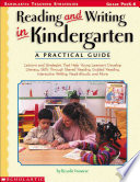 Reading and Writing in Kindergarten, A Practical Guide by Rosalie Franzese PDF