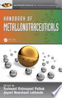 Handbook of Metallonutraceuticals Book
