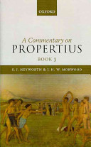A Commentary on Propertius