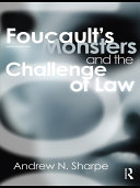 Foucault s Monsters and the Challenge of Law