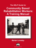 Pdf The HELP Guide for Community Based Rehabilitation Workers