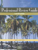 Professional Review Guide for the CCA Examination  2004 Edition