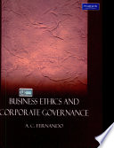 """Business Ethics And Corporate Governance"" by Fernando A.C."